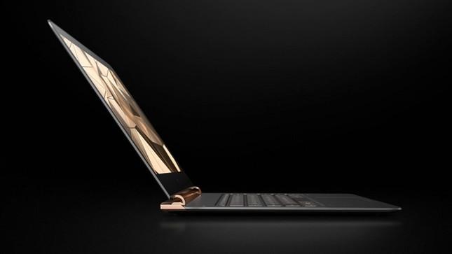Ngắm 'tuyệt tác' laptop siêu mỏng dát vàng 14K của HP - ảnh 12