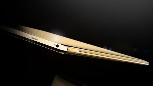 Ngắm 'tuyệt tác' laptop siêu mỏng dát vàng 14K của HP - ảnh 8