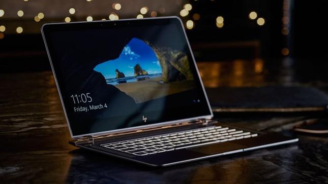 Ngắm 'tuyệt tác' laptop siêu mỏng dát vàng 14K của HP - ảnh 11