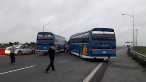 Lái xe khách từng dọa đốt trạm thu phí cao tốc Hà Nội – Hải Phòng - ảnh 1