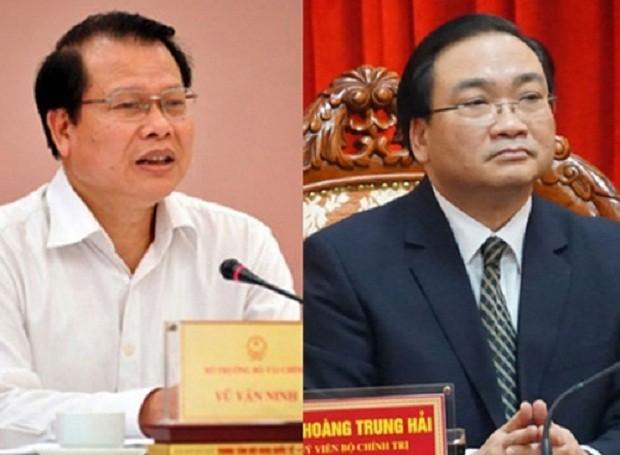 Thủ tướng Chính phủ đề nghị miễn nhiệm 2 Phó Thủ tướng - ảnh 1