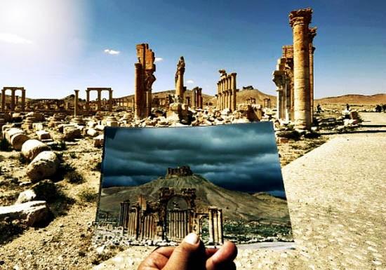 Video: Thành phố cổ Palmyra đã bị IS hủy hoại như thế nào? - ảnh 1