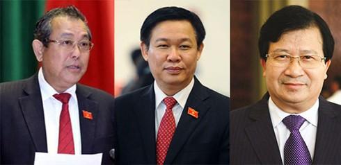 Danh sách 21 thành viên Chính phủ mới được phê chuẩn - ảnh 1