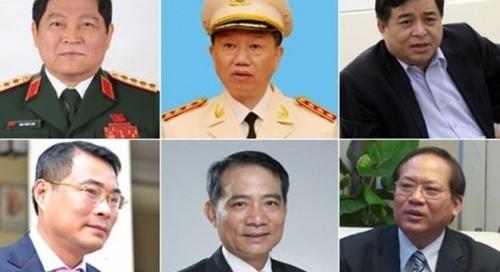 Danh sách 21 thành viên Chính phủ mới được phê chuẩn - ảnh 2