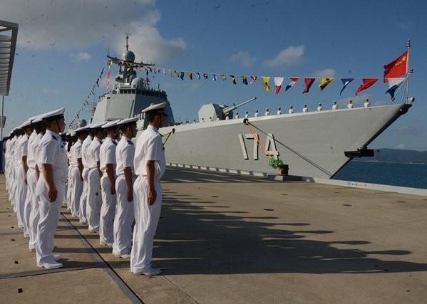 Trung Quốc điều Hợp Phì 174 đến Biển Đông tập trận chống ngầm - ảnh 1