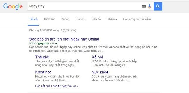 Google sắp đổi màu kết quả tìm kiếm để thu thêm hàng triệu USD? - ảnh 1