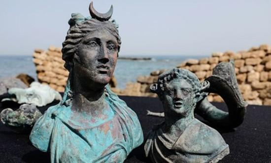 Phát hiện kho báu trong tàu La Mã đắm 1.600 năm trước - ảnh 1