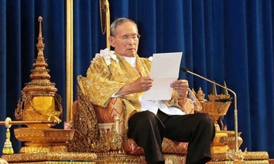 Vua Thái Lan bị tràn dịch não lần hai - ảnh 1
