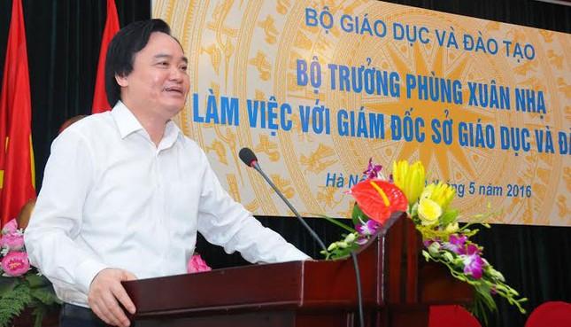 Bộ trưởng Phùng Xuân Nhạ họp với 63 Giám đốc Sở GD - ảnh 1