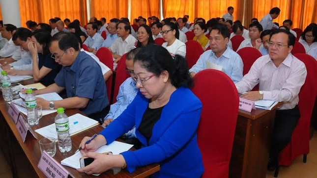 Bộ trưởng Phùng Xuân Nhạ họp với 63 Giám đốc Sở GD - ảnh 2