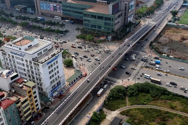 Cầu vượt nhẹ thứ 8 ở Hà Nội được thông xe - ảnh 1