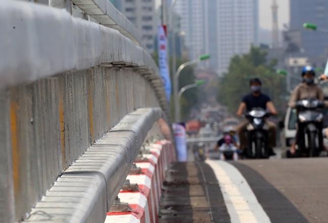 Cầu vượt nhẹ thứ 8 ở Hà Nội được thông xe - ảnh 4