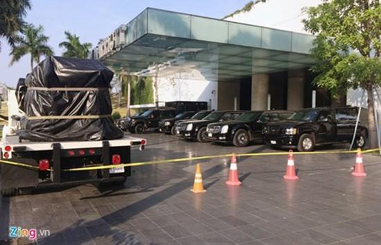 Cadillac One bảo vệ Tổng thống Obama có mặt tại Hà Nội - ảnh 1