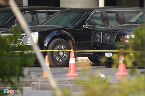 Cadillac One bảo vệ Tổng thống Obama có mặt tại Hà Nội - ảnh 4
