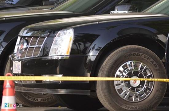 Cadillac One bảo vệ Tổng thống Obama có mặt tại Hà Nội - ảnh 5