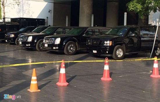 Cadillac One bảo vệ Tổng thống Obama có mặt tại Hà Nội - ảnh 2