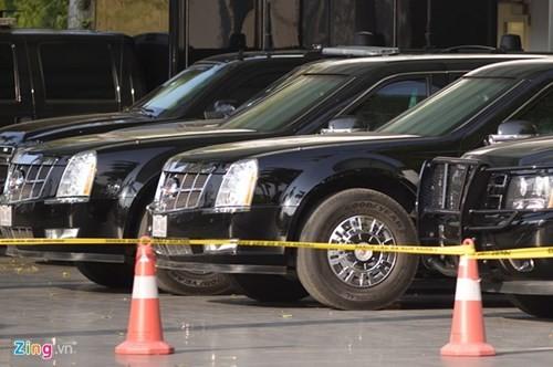 Cadillac One bảo vệ Tổng thống Obama có mặt tại Hà Nội - ảnh 3
