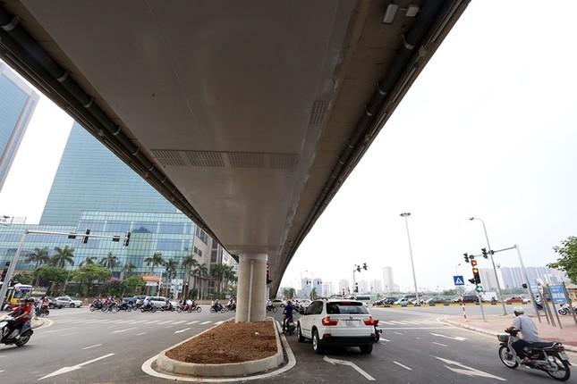 Cầu vượt nhẹ thứ 8 ở Hà Nội được thông xe - ảnh 7