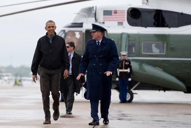 [ẢNH] Tổng thống Obama lên đường tới Việt Nam - ảnh 3