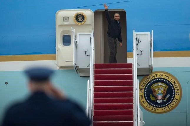 [ẢNH] Tổng thống Obama lên đường tới Việt Nam - ảnh 4