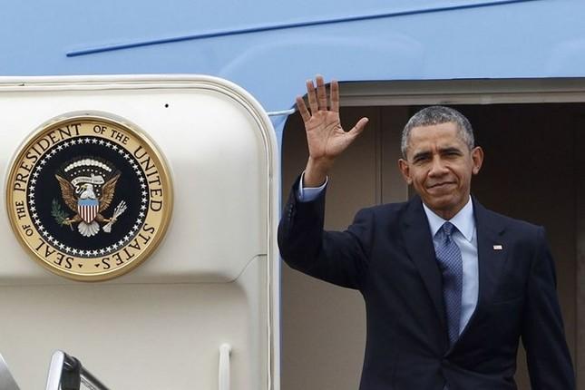 [ẢNH] Tổng thống Obama lên đường tới Việt Nam - ảnh 5