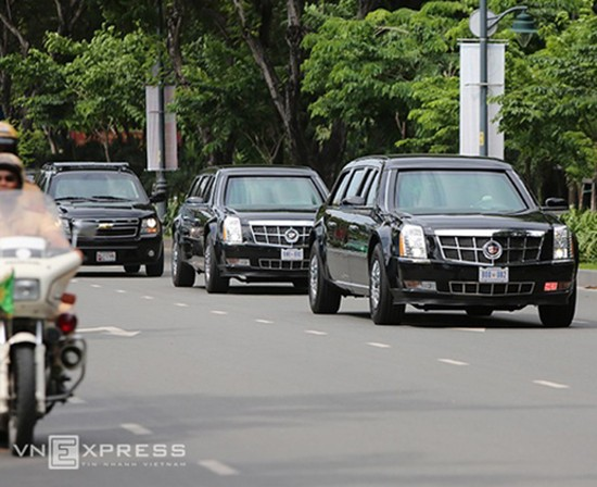 Nhiều tuyến đường bị cấm khi Tổng thống Obama đến Sài Gòn - ảnh 1