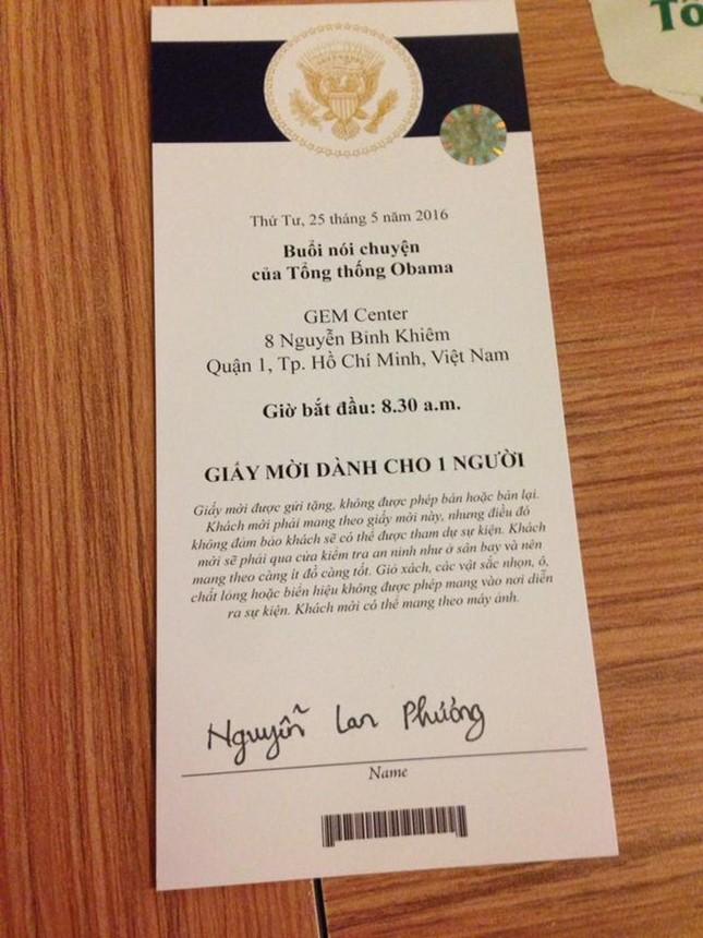 Lan Phương, hoa hậu Thu Thảo trò chuyện với Tổng thống Obama - ảnh 2