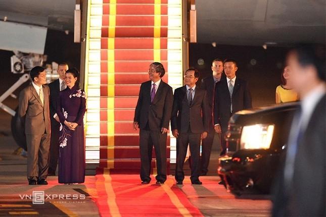 Đón tiếp Tổng thống Mỹ ở sân bay Nội Bài - ảnh 5