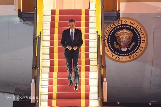 Đón tiếp Tổng thống Mỹ ở sân bay Nội Bài - ảnh 6