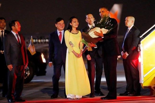 Đón tiếp Tổng thống Mỹ ở sân bay Nội Bài - ảnh 8