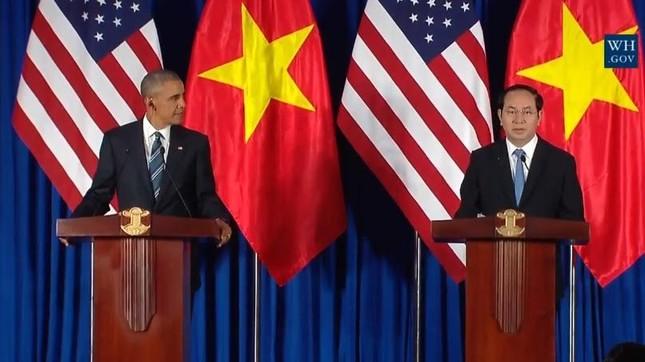 Chủ tịch nước: Hoan nghênh Mỹ dỡ bỏ cấm vận vũ khí Việt Nam - ảnh 1