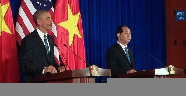 Chủ tịch nước: Hoan nghênh Mỹ dỡ bỏ cấm vận vũ khí Việt Nam - ảnh 2