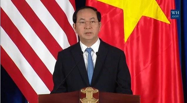 Chủ tịch nước: Hoan nghênh Mỹ dỡ bỏ cấm vận vũ khí Việt Nam - ảnh 4
