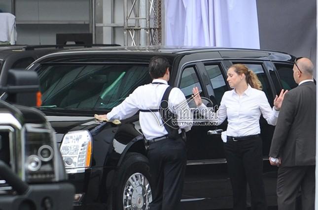 Nữ tài xế lái Cadillac One cho Tổng thống Obama ở Hà Nội - ảnh 2