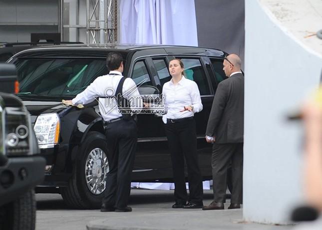 Nữ tài xế lái Cadillac One cho Tổng thống Obama ở Hà Nội - ảnh 3