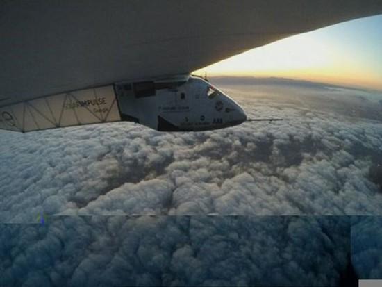 Máy bay năng lượng Mặt Trời đã hoàn thành chặng bay thứ 11 - ảnh 1