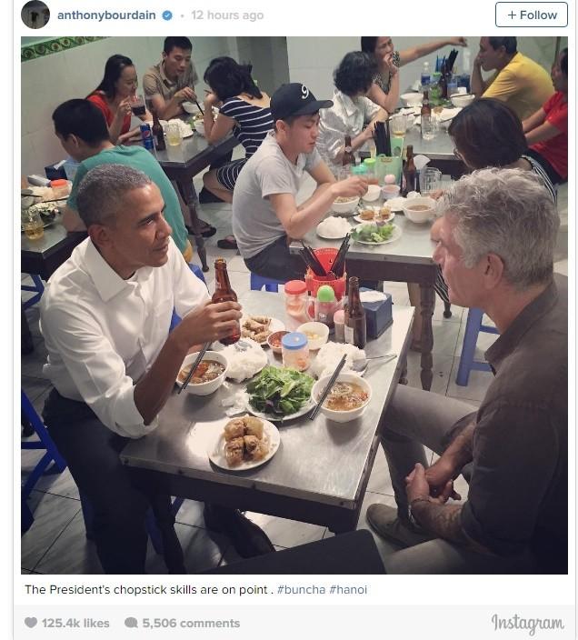 Vì sao thực khách ăn bún chả không nhìn ông Obama? - ảnh 2