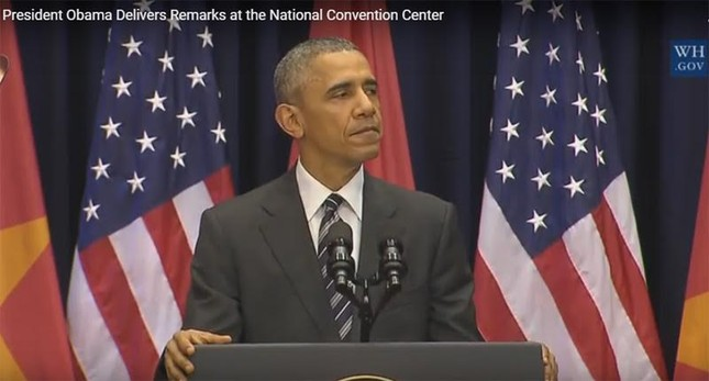 Tổng thống Obama: Sông núi nước Nam vua Nam ở - ảnh 1