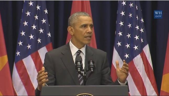 Tổng thống Obama: Sông núi nước Nam vua Nam ở - ảnh 2