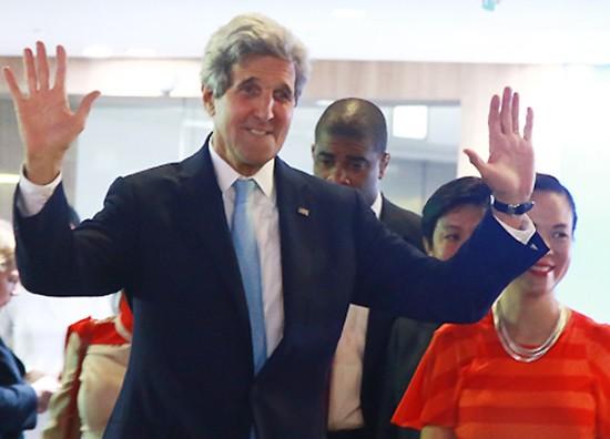 Ông Đinh La Thăng ăn tối với Ngoại trưởng John Kerry - ảnh 2