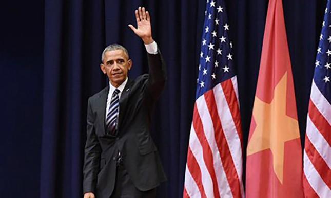 Ông Obama nói gì trước khi rời Việt Nam? - ảnh 1