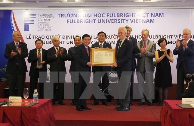 Thành lập Fulbright Việt Nam - Đại học phi lợi nhuận đầu tiên - ảnh 1