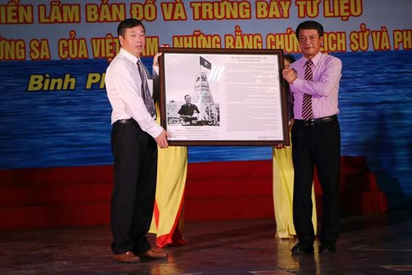 Tư liệu chủ quyền Hoàng Sa, Trường Sa đến Bình Phước - ảnh 1