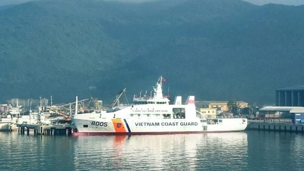 Nghiệm thu kỹ thuật tàu Cảnh sát biển 8005 - ảnh 1