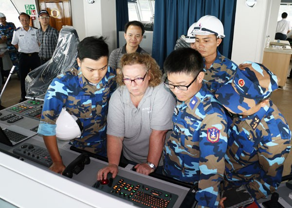 Nghiệm thu kỹ thuật tàu Cảnh sát biển 8005 - ảnh 2