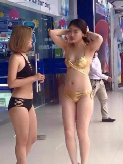 Chân dài mặc bikini ở siêu thị: Trần Anh trả lời 'chống chế'? - ảnh 1