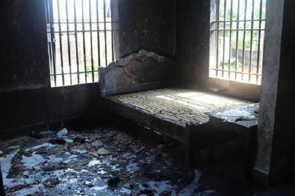 Cháy nhà ở Nghệ An: Cả 4 người trong gia đình đã tử vong - ảnh 1