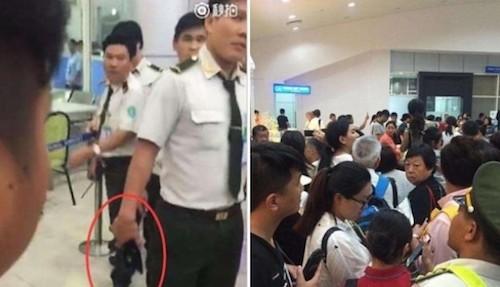 Xử phạt nhân viên sân bay Cam Ranh vì đánh hành khách TQ - ảnh 1