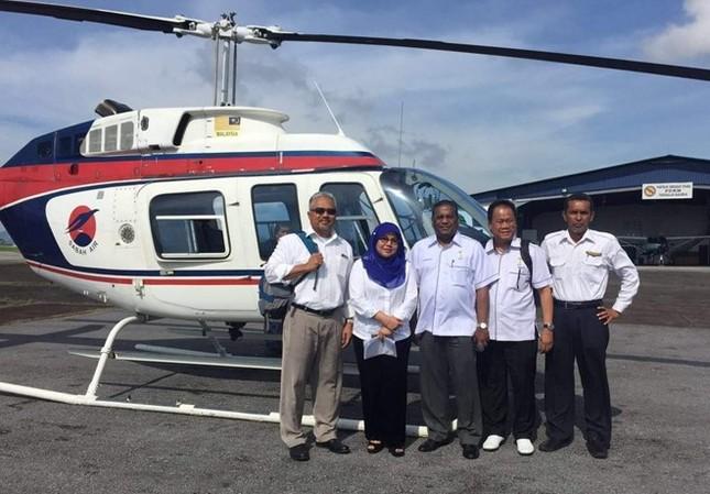 Malaysia tìm kiếm máy bay chở 4 quan chức cấp cao mất tích - ảnh 1