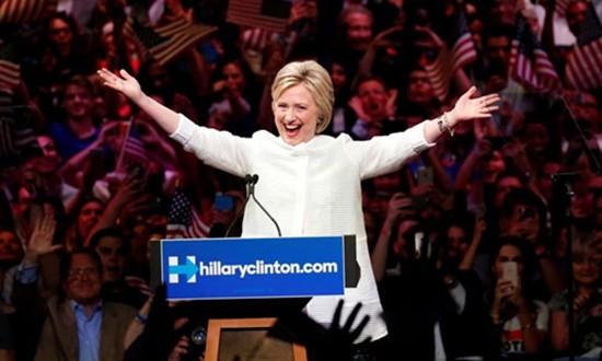 Hillary Clinton và hành trình gian truân để đi vào lịch sử chính  - ảnh 1